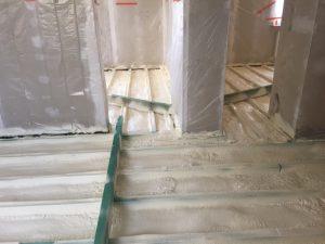 Termo i hydro izolacja podłogi na gruncie